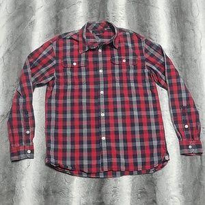 Tommy hilfiger boys size L button up shirt